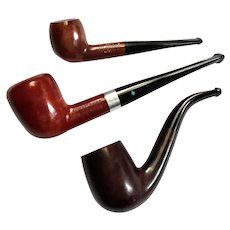 Lot Of Three Vintage Pipes
