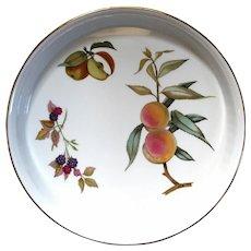 Royal Worcester Large Round Evesham Porcelain Dish