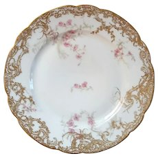 Set Of Four French Haviland Limoges Plates
