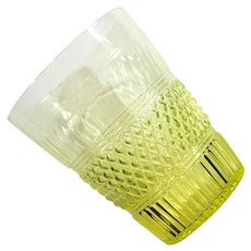 Boston Sandwich Glass MMA Reproduction Vase