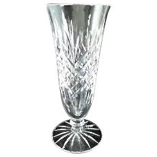 Vintage Irish Waterford Cut Crystal Ashbourne Vase