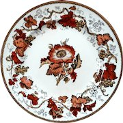 Antique Wedgwood Lustreware Vine Pattern Plate