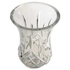 Waterford Crystal Lismore Pattern Hurricane Globe