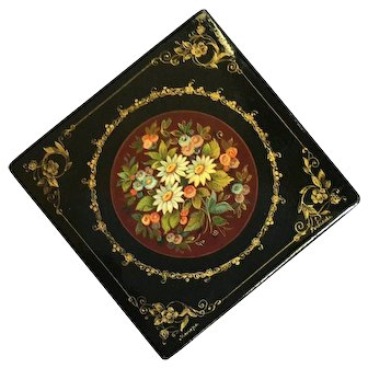 Vintage Signed Russian Lacquer Box