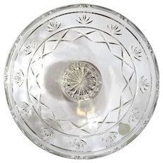 """Waterford Crystal Keane 8"""" Candle Floater Bowl"""