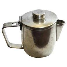 Vintage Fairmont Hotel Silver Teapot
