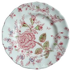 Set Of 11 Rose Chintz By Johnson Brothers Bread Plates