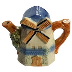 Occupied Japan Cottage Ware Windmill Teapot