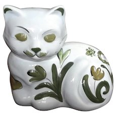 Los Angeles Pottery Cat Cookie Jar, Circa 1950