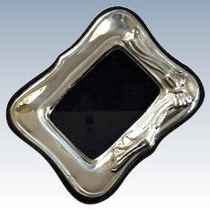 Italian Sterling Silver Picture Frame