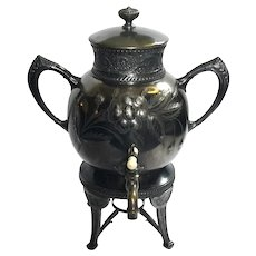 Kann And Sons Mfg Co Quadruple Plate Samovar, Circa 1870