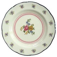 Set Of Six Wedgwood Naomi Desert Plates