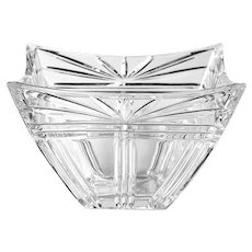 Waterford Crystal Odyssey Pattern Square Bowl