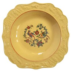 19th Century Set Of Six Yelloware Soup Bowls
