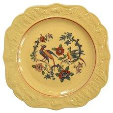 19th Century Set Of Three Yelloware Desert Or Bread Plates