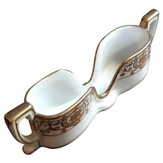 Noritake Hand-Painted Moriage China Spoon Holder
