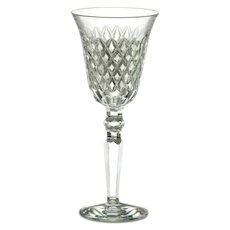 Pair Of Waterford Crosshaven Crystal Wine Glasses