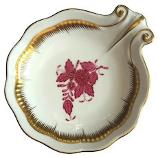 Herend Porcelain Chinese Bouquet Shell Dish