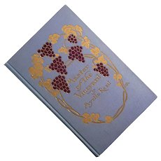 First Edition Master Of The Vineyard By Myrtle Reed, 1910
