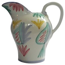 Colore Pottery Pitcher By Vietri Italy