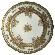 Hand-Painted Nippon Japanese Moriage Plate