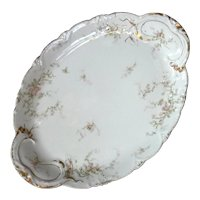 Antique French Haviland Limoges Porcelain Platter