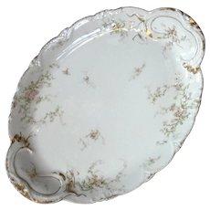 Antique French Haviland Limoges Porcelain Platter