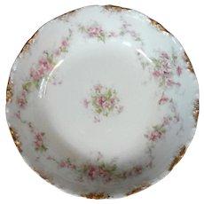 Set Of Six Antique French Haviland Limoges Porcelain Bowls