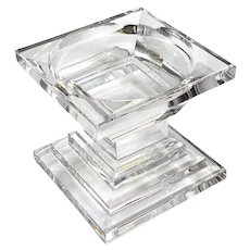 Metropolitan By Waterford Crystal Pillar Candle Holder