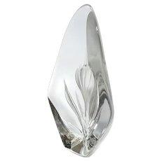 Maleras Sweden Art Glass Paperweight By Mats Jonasson