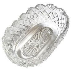 Waterford Oval Crystal Bowl