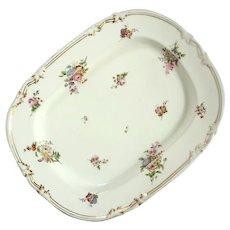 French Empire Paris Porcelain Platter