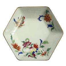 Vista Alegre Porcelain Pomegranate And Butterfly Bowl