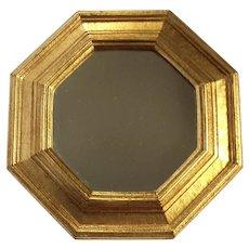 Italian Florentine Gilt Wood Mirror