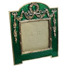 Terragraphics Enameled Picture Frame
