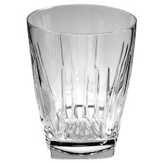 Pair Of Waterford Crystal Clarion Double Old Fashioned Glasses