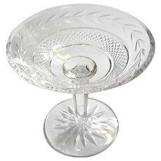 Waterford Crystal Glandore Pattern Pedestal Bowl