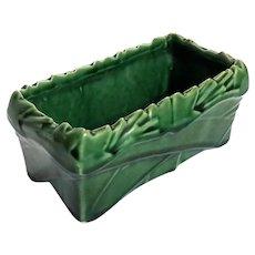 McCoy Green Pottery Planter