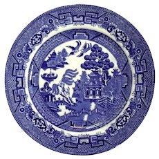 Set Of Ten English Allertons Blue Willow Plates