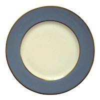 Flintridge Sylvan Dutch Blue Desert Plate