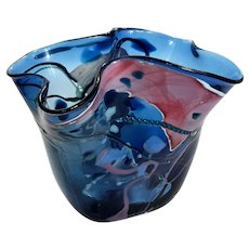 Kosta Boda Art Glass Vase
