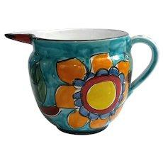 Vintage La Musa Italian Pottery Pitcher
