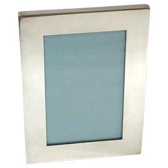 Tiffany & Co Sterling Silver Rectangular Frame
