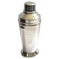Vintage Silverplated Cocktail Shaker