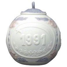 Lladro 1991 Christmas Ornament