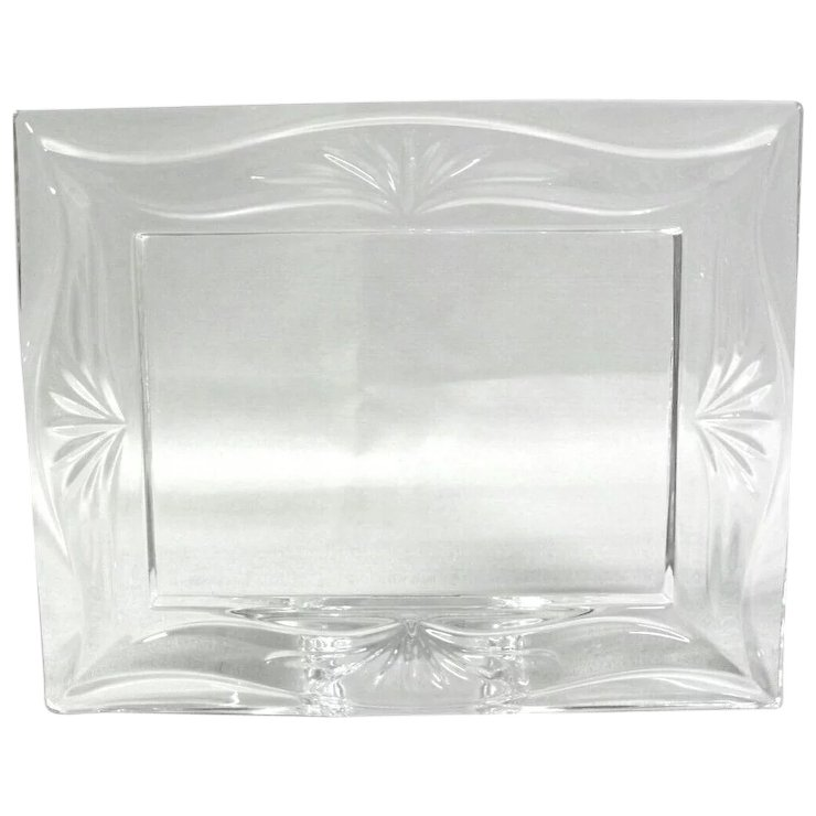 Marquis By Waterford Crystal Roselle Picture Frame Stephen A