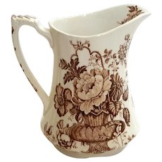 Alfred Meakin Staffordshire Pottery Charlotte Pitcher