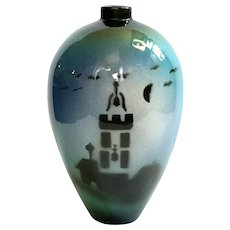 Mid-Century Modern ICAP Gualdo Tadino Italian Pottery Vase