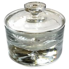 Krosno Glass Lidded Candy Dish