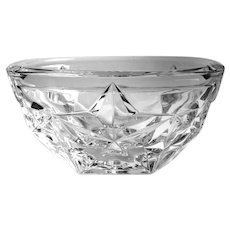 Tiffany & Co Star Crystal Bowl